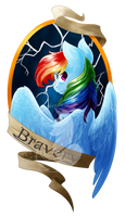 Medallion - Bravery by FuyusFox