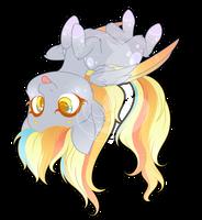Rainbow Power Chibi Redux - Derpy by FuyusFox