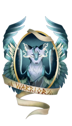 Commission - Warrior Medallion by FuyusFox