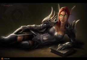 Blood Elf - Priest by TamplierPainter