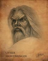 Uther LightBringer - Sketch by TamplierPainter