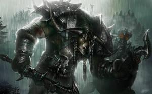 Tauren Warrior by TamplierPainter