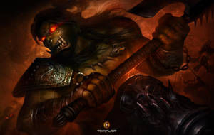 Grom HellScream by TamplierPainter
