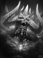 Fast Drawing: Diablo by TamplierPainter
