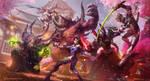 Hanamura showdown by TamplierPainter