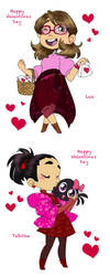 Valentines To Friends 2 by HezuNeutral