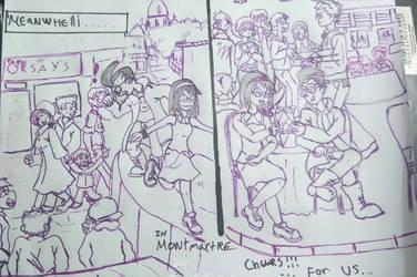 City of the death 2 - lovers in montmartre by EDUARDOOREJUELA