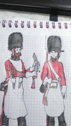 British pioneers..in parade dress by EDUARDOOREJUELA