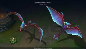 Prehistoric Anivia by sunnykoda