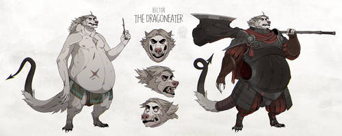 The Dragoneater by tetramera