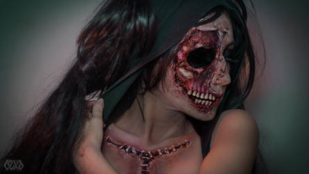Torn face by psychicLexa