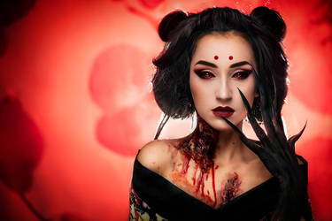 Demon Geisha by psychicLexa