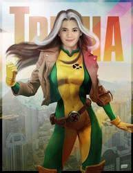 Trisha as Rogue by 3demman