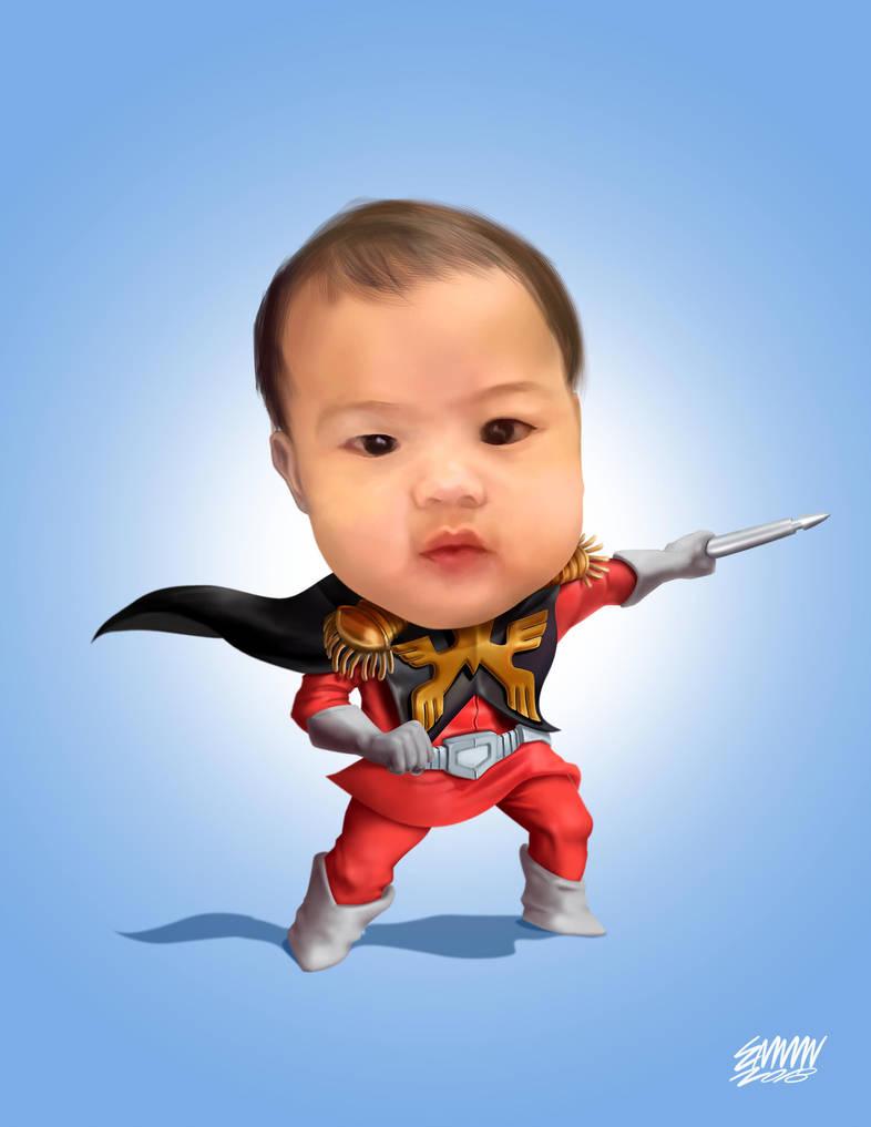 Baby Liam by 3demman