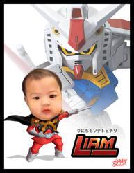 Baby Liam gundam Pilot_CommArt by 3demman