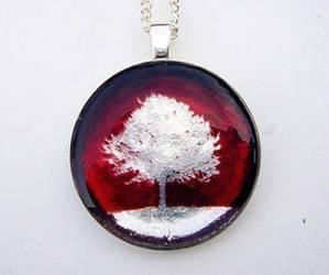 Silver Tree by luminarydreams