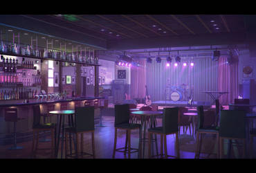 Bar/Concert Room by goliatgashi