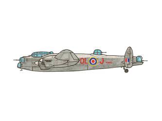 Avro Lancaster by YuryMilovidov