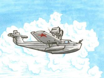 Tupolev MDR-2 by YuryMilovidov