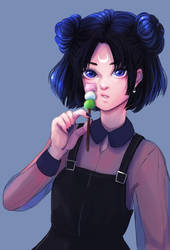 Luna || with painting process by fcnjt