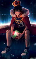 King of the court by m-arci-a
