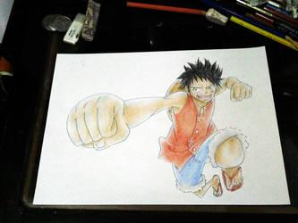 Monkey D. Luffy - One Piece by elangilman