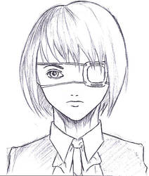 Mei Misaki Sketch by elangilman