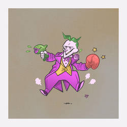 The Joker by CalamityJon
