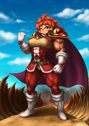 Muscular Lina Inverse by Nestkeeper