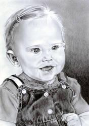 Ashlyn 1 year Old by shawnSass