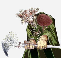 Woodling Druid by MDMartin