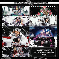//SHARE PSD// HAPPY SNSDs 10TH ANNIVERSARY by JudilsGoer