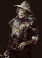 Zombie Cowboy by MK01