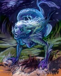 A Pretty Mermaid by MK01