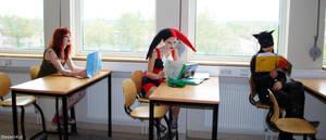 In class by Mirish