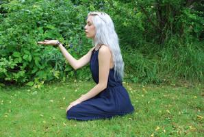 Silver Girl 9 - stock by Mirish
