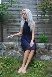 Silver Girl 13 - stock by Mirish