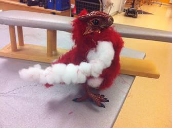 WIP Phoenix Art Doll by Mirish