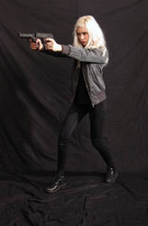 Dauntless - Action Heroine stock 17 by Mirish