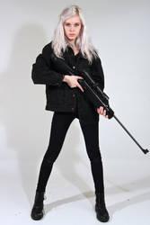 Dauntless - Female stock 1 by Mirish