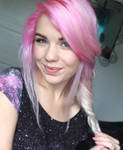 Pink Hair by Mirish
