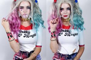 Hiya Puddin' - Harley Quinn Cosplay by Mirish