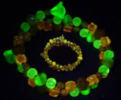 Brimstone bracelet by wombat1138