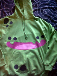 THE MONSTER HOODY by armadilloboy