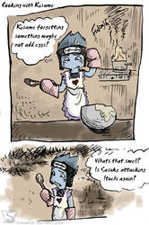 cooking with Kisame -naruto by sw