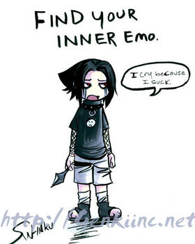 Sasuke - Find your inner emo by sw