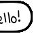 Hello 2 Speech Bubble - Beemote