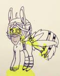 sketch of pony by baikazu
