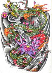 dragon japan... by 46diego