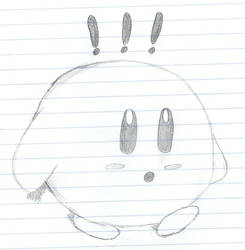 Sketchy Kirby by Zecarius